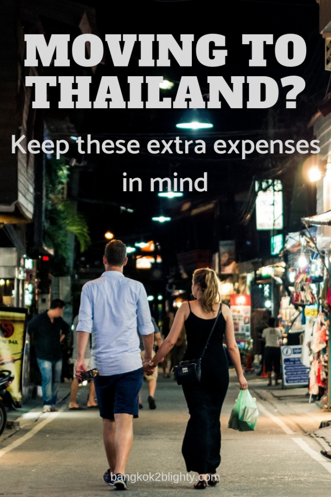 Before you book a one-way ticket to Thailand, there are a few additional costs and factors to keep in mind when figuring out how much money you'll need