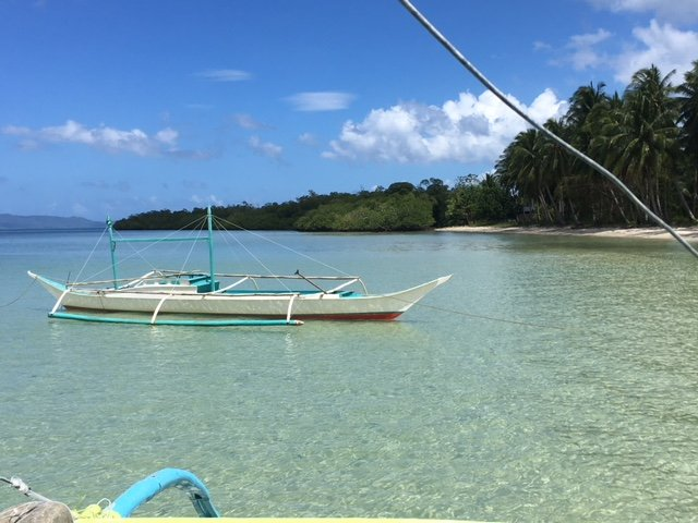 Clear blue water Palawan