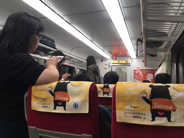 Taiwan train travel