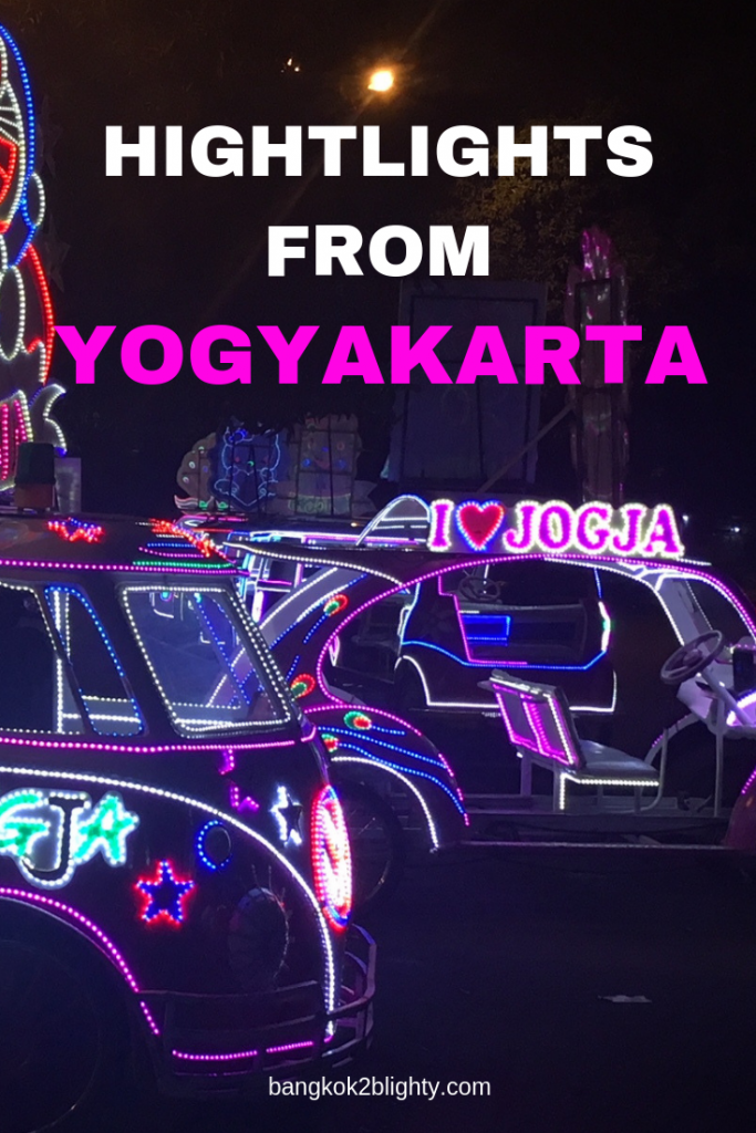 Highlights from our 7 day trip to Yogyakarta